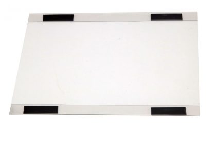 Clear plastic document holder with magnets. For A3 papers landscape.
