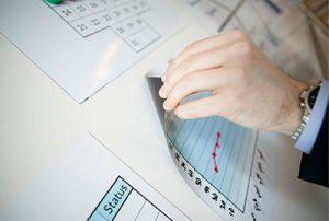 Magnetis sheets for Visual Management